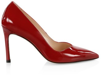 Stuart Weitzman Anny Patent Leather Pumps