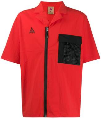 Nike short sleeve shirt-jacket