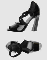 DONNA KARAN High-heeled sandals