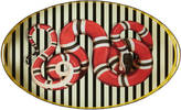 Gucci Kingsnake oval metal tray