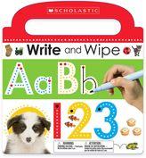 """Scholastic Write and Wipe ABC 123"""" Board Book"""