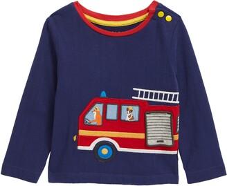 Boden Transport Applique T-Shirt