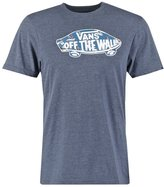 Vans Custom Fit Print Tshirt Navy Heather/full Sails