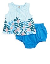 Tea Collection Infant Girl's Yulara Tank & Bloomers Set