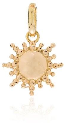 Gigi Clozeau 18kt Yellow Gold Sun-Motif Charm
