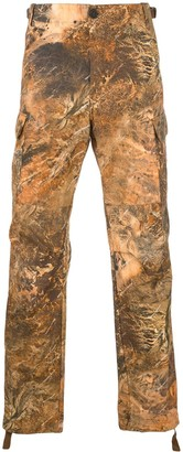 Heron Preston Printed Cargo Trousers