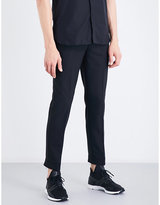 Neil Barrett Zip-detail Regular-fit Mid-rise Gabardine Trousers