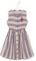 Bobo Choses striped dress - kids - Linen/Flax/Viscose - 2 yrs