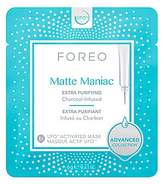 Foreo Women's Matte Manic Extra Purifying Charcoal-Infused 6-Piece Sheet Mask Set