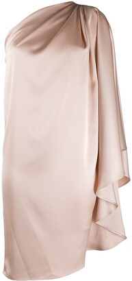 Gianluca Capannolo One Shoulder Tunic Dress