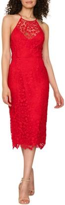 Yumi Kim She's Mine Crochet Lace Sheath Dress