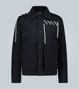 Craig Green Laced stretch-cotton jacket