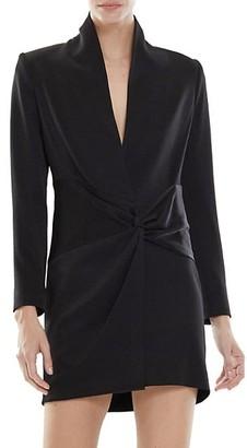 Halston Paris Satin Blazer Dress