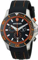 Wenger Men's 0643.104 Analog Display Swiss Quartz Watch