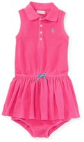Ralph Lauren Girls Polo Dress & Bloomer Set