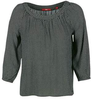 S'Oliver IJIBOULO women's Blouse in Black