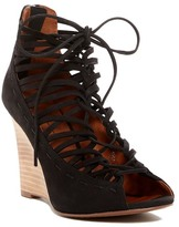 Linea Paolo Willow Lace-Up Wedge Sandal