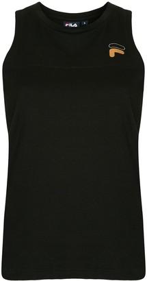 Fila sleeveless logo T-shirt