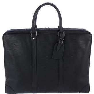Louis Vuitton 2015 Epi Porte-Documents Voyage Briefcase