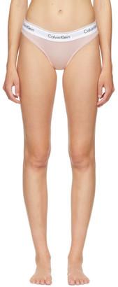 Calvin Klein Underwear Pink Modern Bikini Briefs