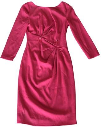 Versace Red Wool Dresses