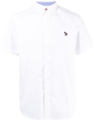 Paul Smith Zebra Patch Organic Cotton Shirt