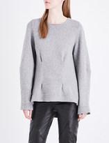 Alexander McQueen Pinch-detail cashmere jumper