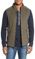 True Grit Men's Bonded Fleece Zip Front Vest