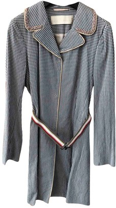 Schumacher Beige Cotton Coat for Women