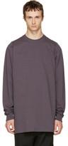 Rick Owens Purple Crewneck Sweater