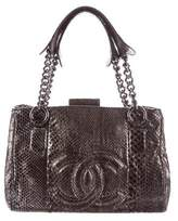 Chanel Metallic Python Perfect Day Tote