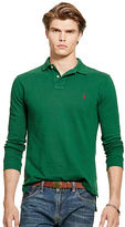 Polo Ralph Lauren Custom-Fit Long-Sleeve Polo