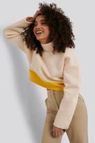 NA-KD Hanna Martine X Block Color Sweater
