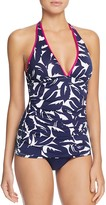 Tommy Bahama Graphic Halter Tankini Top