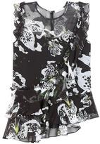 Erdem Vena Printed Silk Blouse