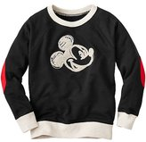 Disney Mickey Mouse Embroidered Sweatshirt