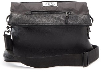 Maison Margiela 5ac Grained-leather Cross-body Bag - Black