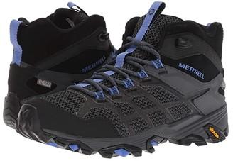 Merrell Moab FST 2 Mid Waterproof (Black/Granite) Women's Hiking Boots