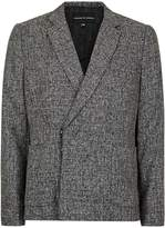 Topman Rogues Of London Grey Salt And Pepper Suit Jacket