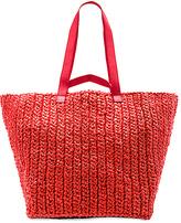Rachel Comey Lotte XL Weekender Bag in Red.