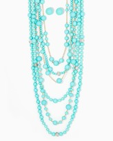 Charming charlie Just Bead It Layered Necklace Set
