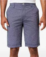 INC International Concepts Men's 11and#034; Chambray Cotton Shorts, Created for Macy's