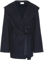 The Row Reyna cotton and wool jacket