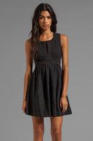Juicy Couture Cloque Jacquard Dress