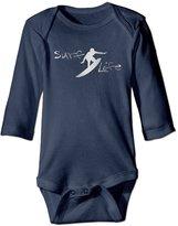 VOVNDOT Infant Surf Life Platinum Style Long Sleeve Romper Bodysuit