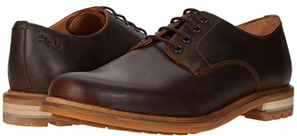 Clarks Foxwell Hall (Beeswax Leather) Men's Shoes