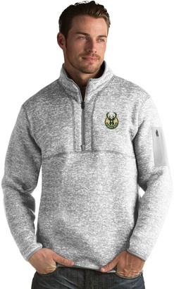 Antigua Men's Milwaukee Bucks Fortune Pullover