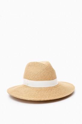 Toucan Hats Black Wide Brim Sun Hat