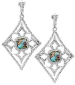 Armenta New World Diamond & Gemstone Triplet Drop Earrings