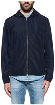 Dondup Blue Kway Hooded Jacket